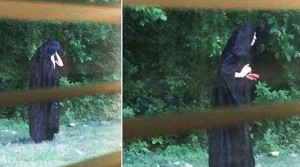 picture of cloaked man in gastonia
